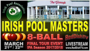 Irish Pool Masters 2018 promo